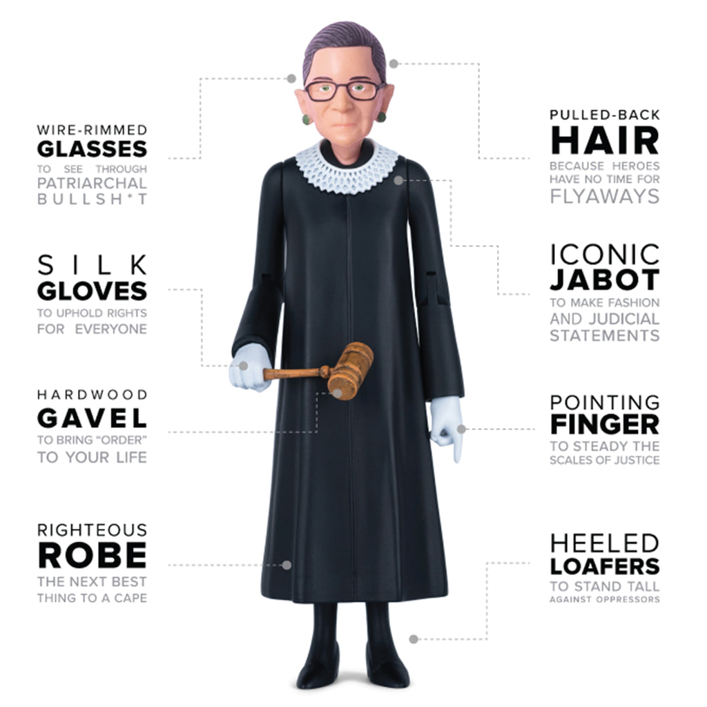 RBG action figure description