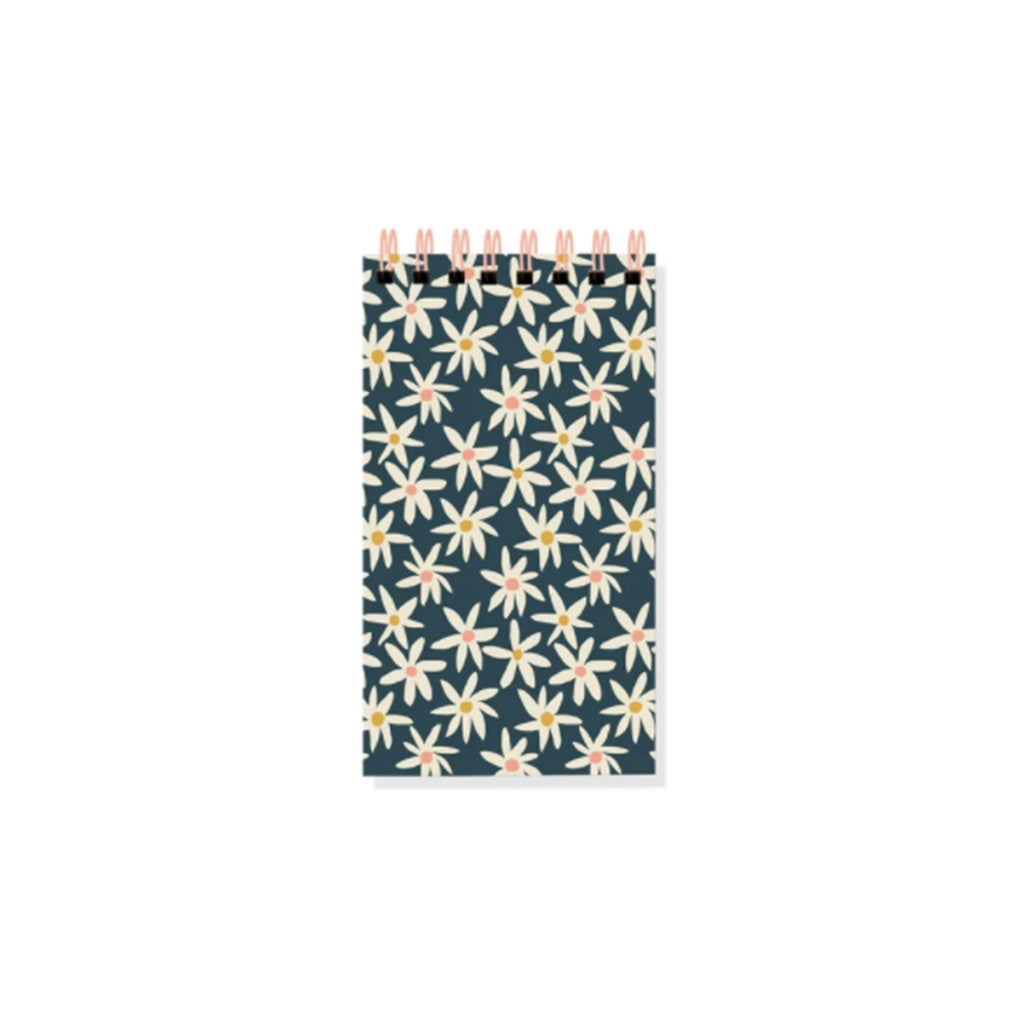 fringe studio daisies mini ring bound notepad