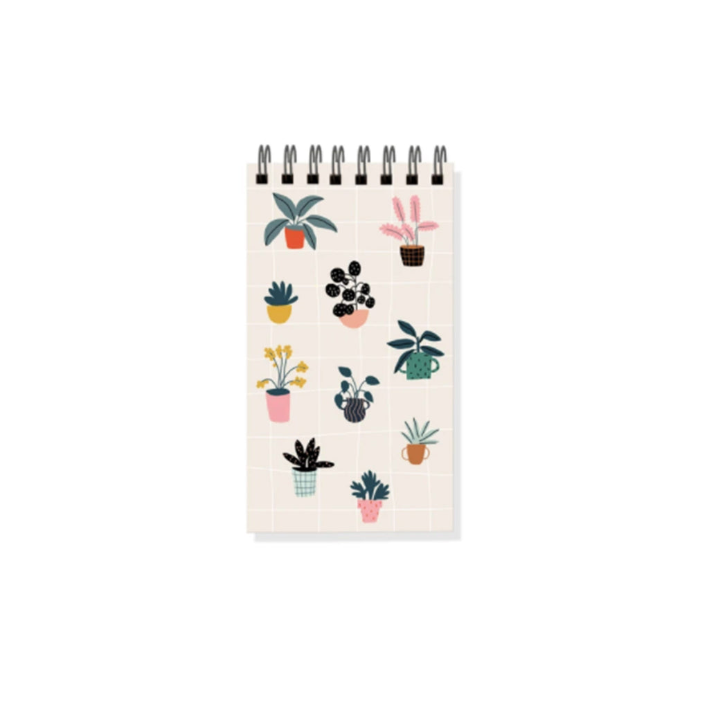 fringe studio house plants mini ring bound notepad
