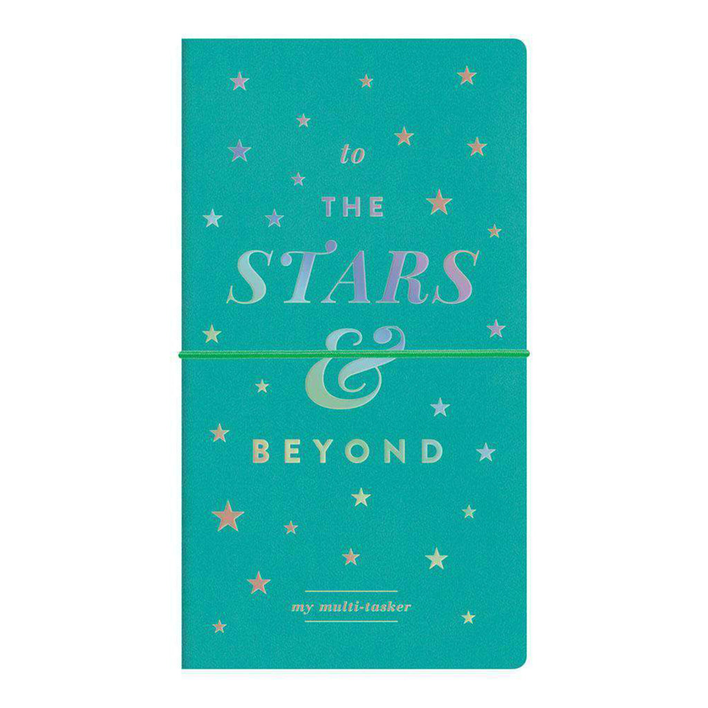 to the stars and beyond multi-tasker undated planner journal cover