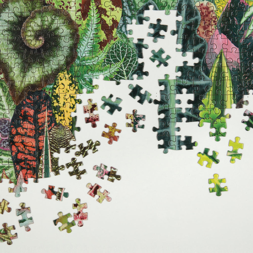 1000 piece houseplant jungle jigsaw puzzle