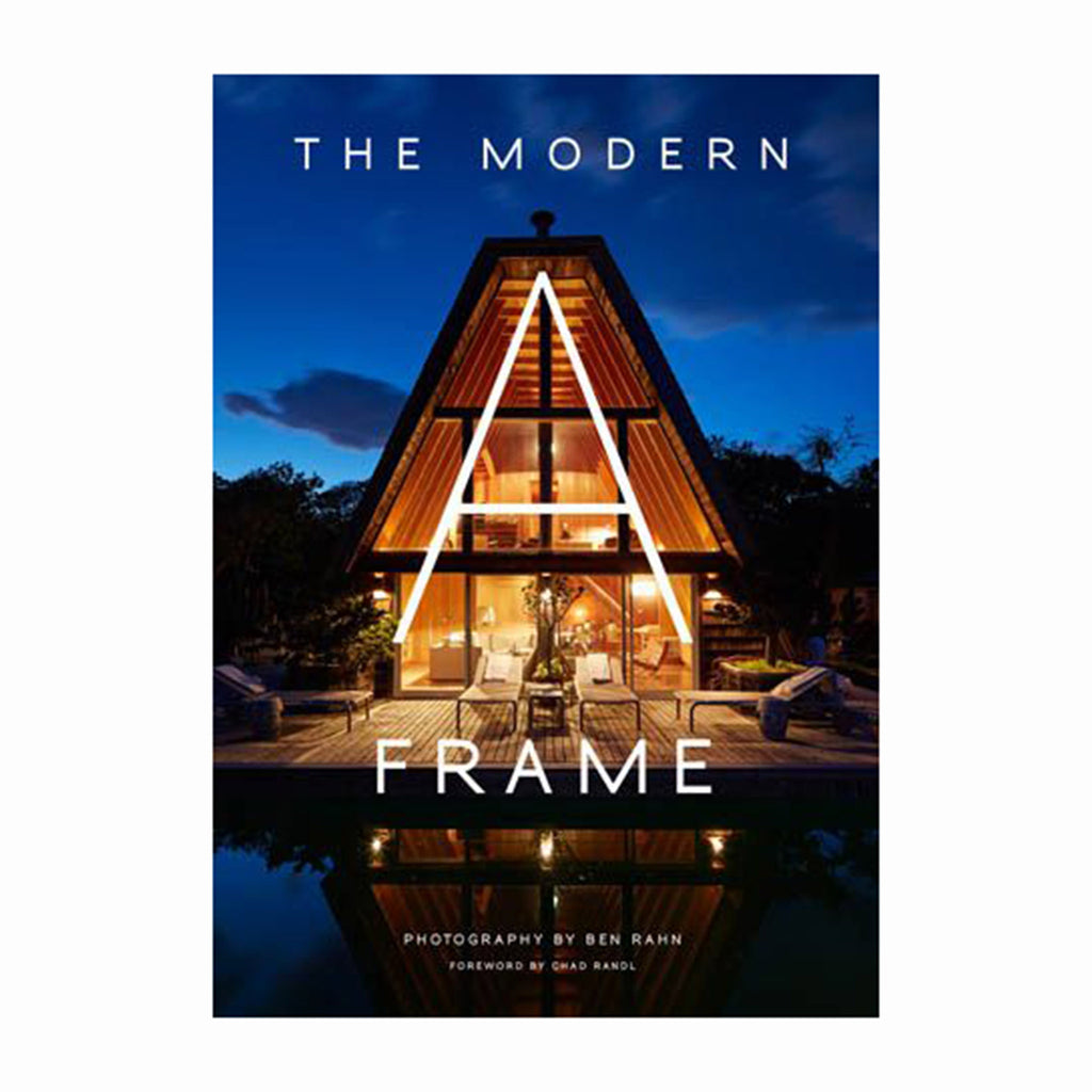 gibbs smith the modern a-frame mid-century modern architecture design book cover