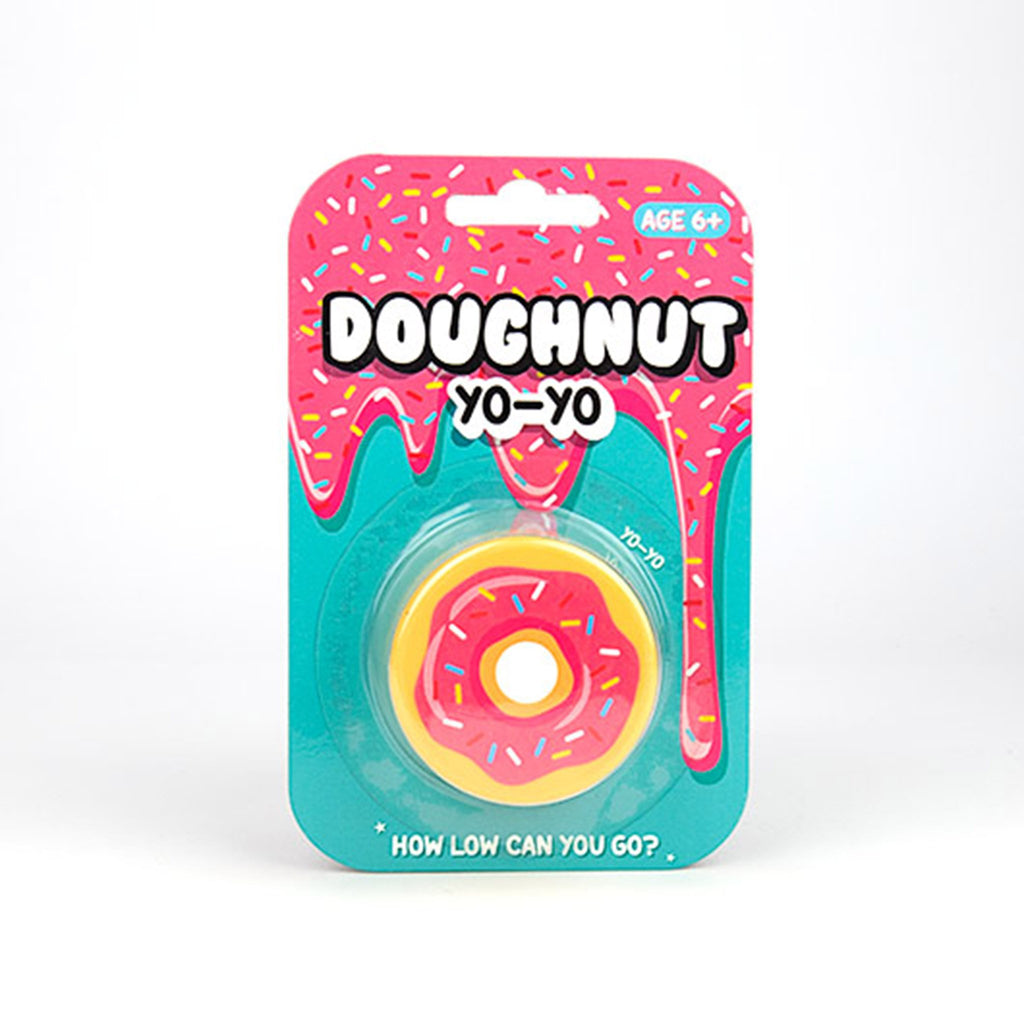 gift republic frosted doughnut yoyo toy packaging