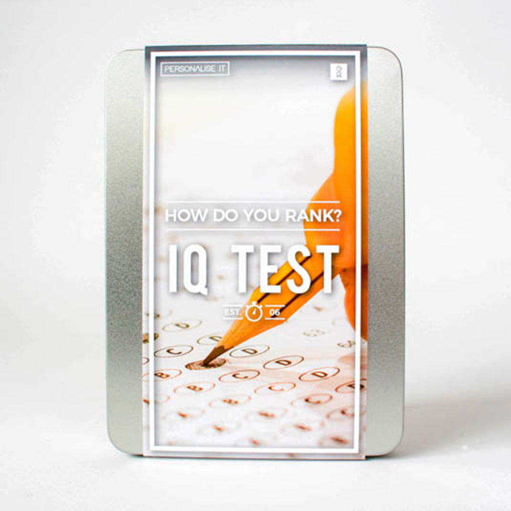 gift republic how do you rank iq test tin gift packaging