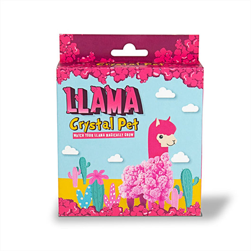 gift republic llama crystal pet grow kit box