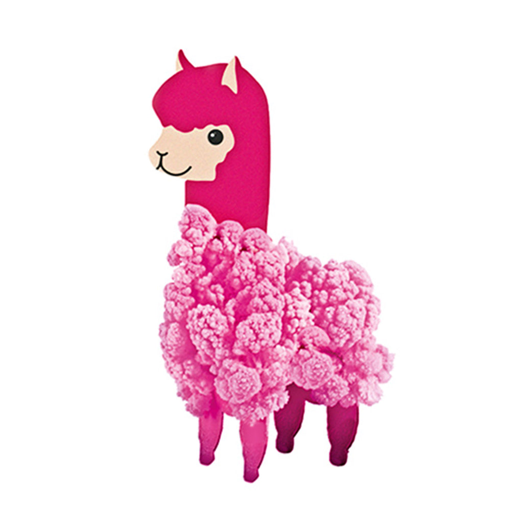 gift republic llama crystal pet grow kit llama with pink crystals