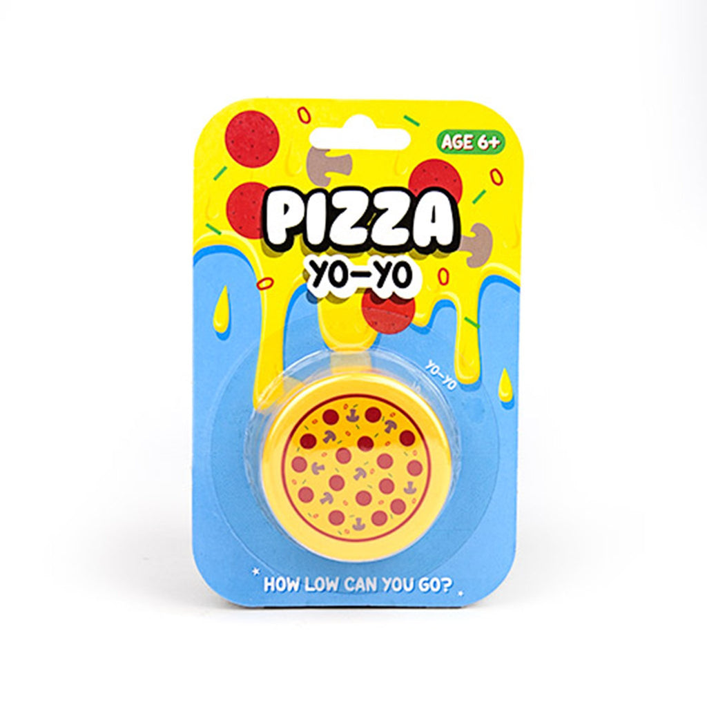 gift republic pizza pie yoyo toy packaging