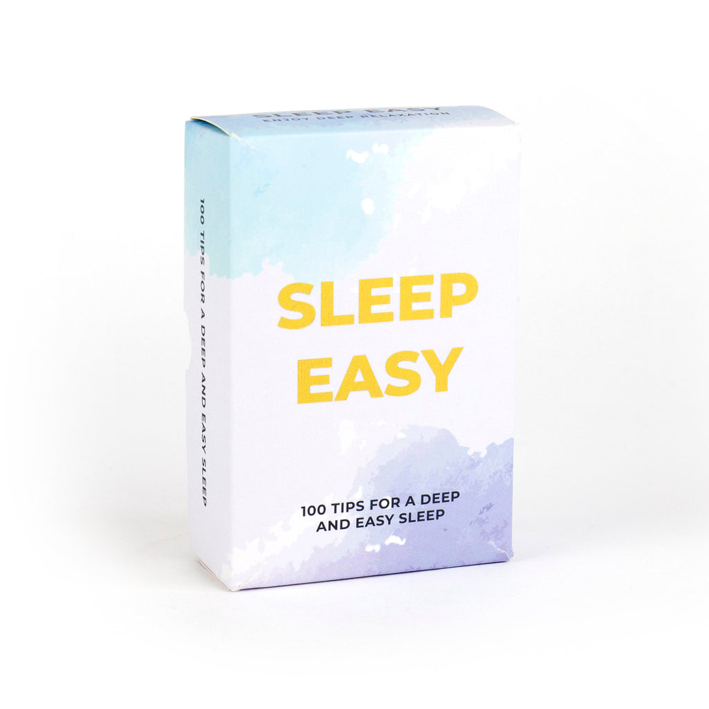 gift republic sleep easy tip cards packaging front