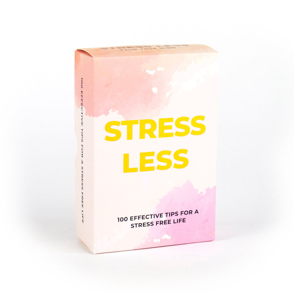 gift republic stress less tip cards packaging front