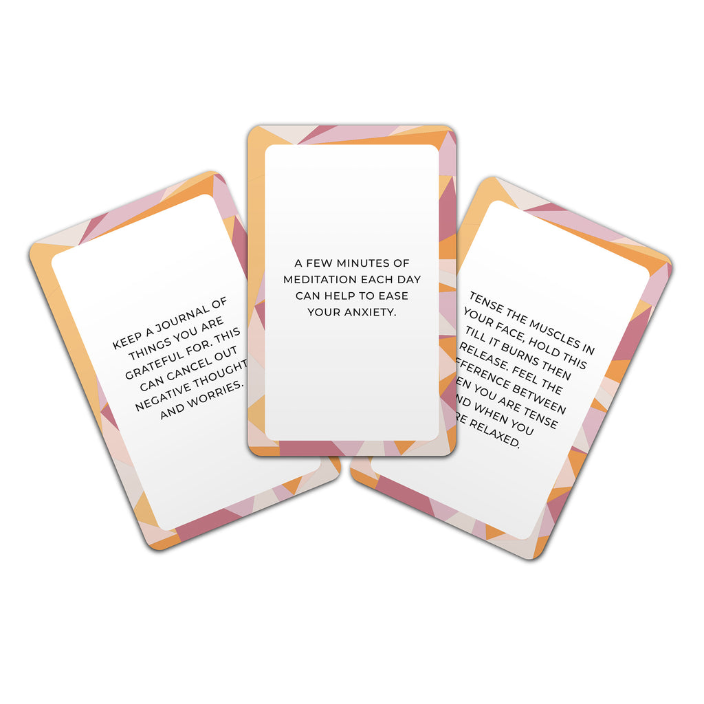gift republic stress less tip cards sample