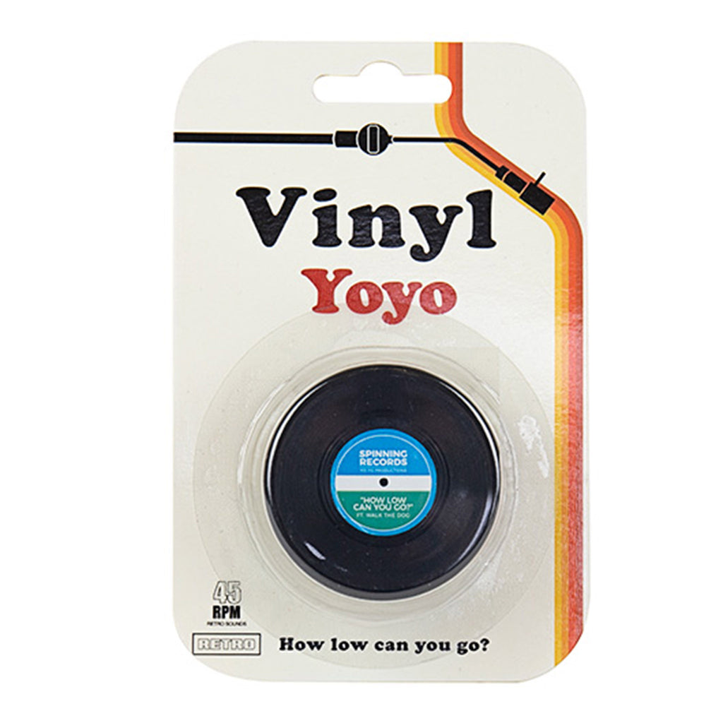 gift republic vinyl record yoyo toy packaging