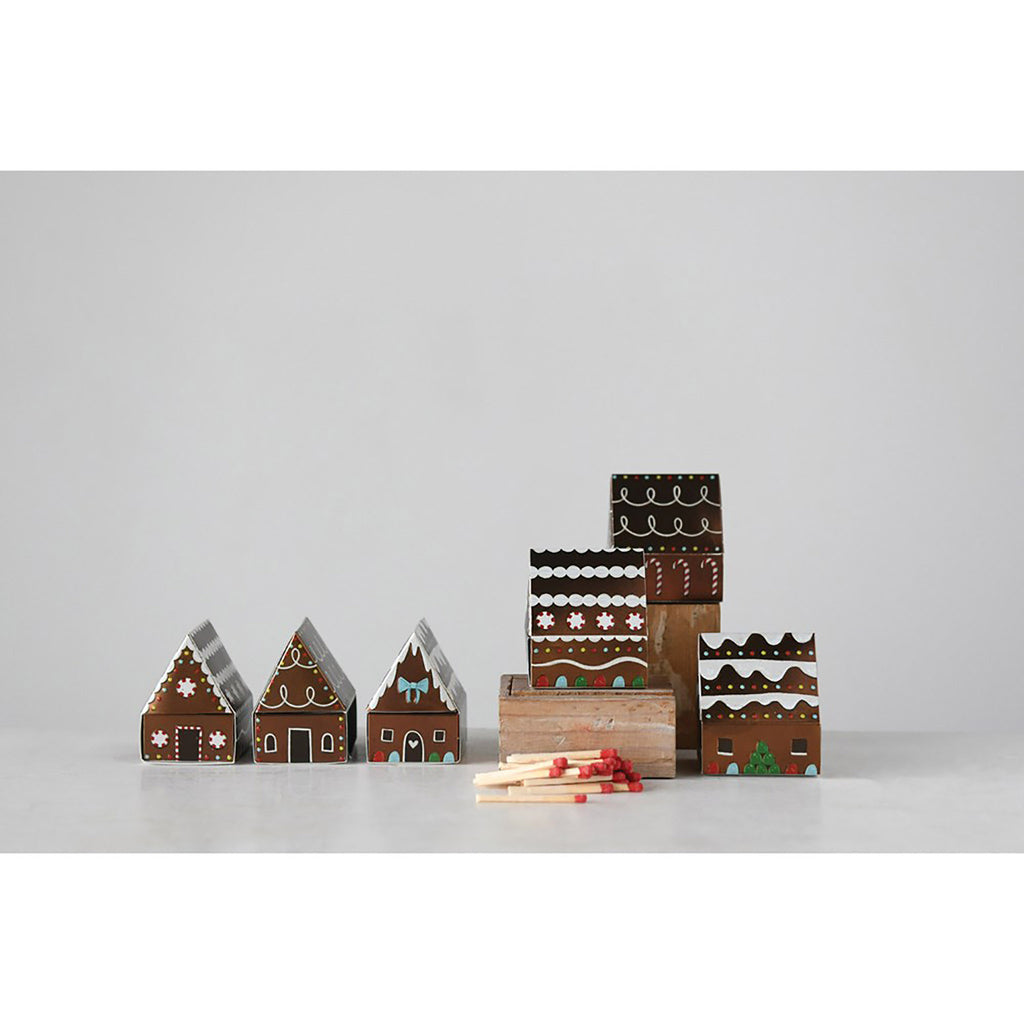 gingerbread house matchbox