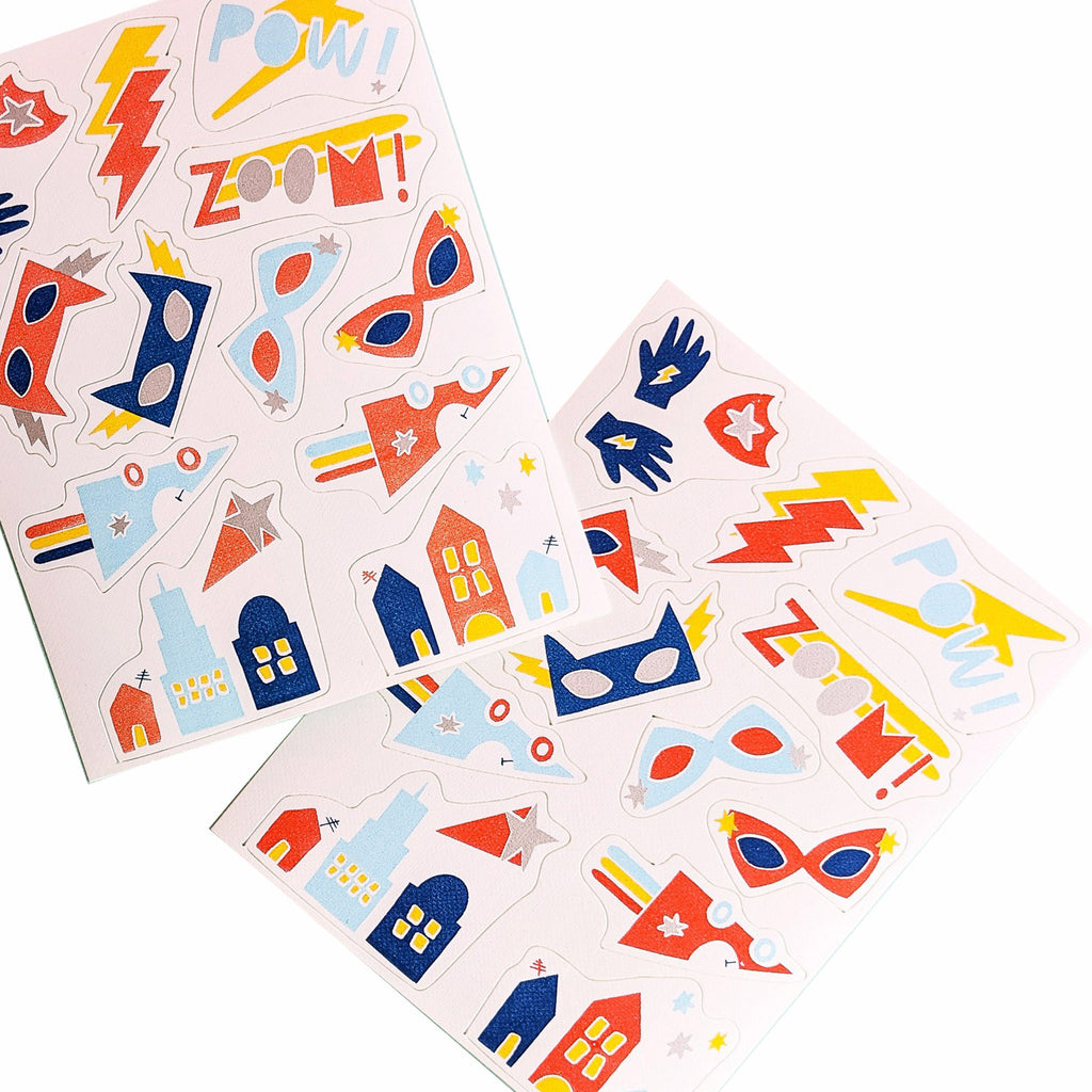 goodie goodie stickies super duper hero edible decorating stickers sheet for cupcake and cake toppers