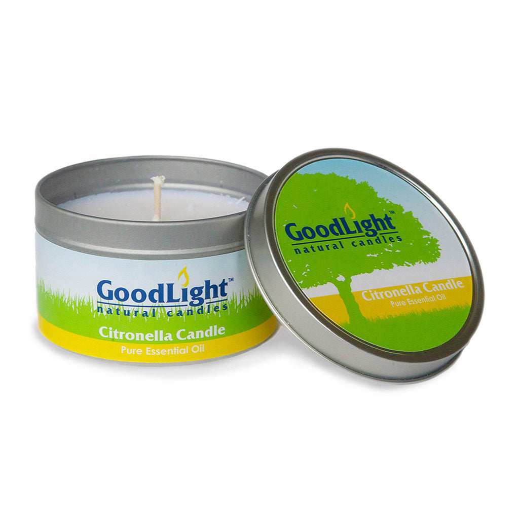 goodlight natural candles citronella candle in portable travel tin with lid