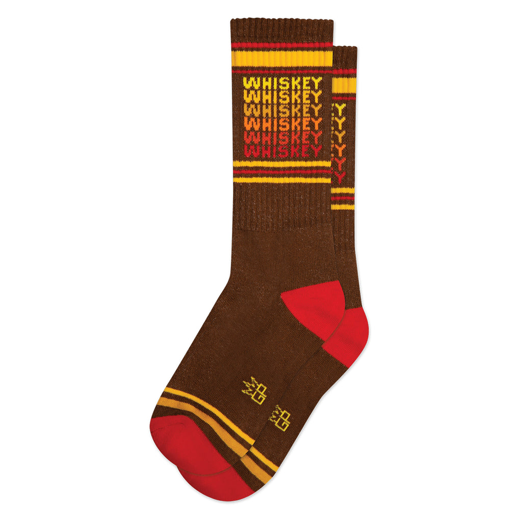 gumball poodle whiskey statement unisex gym socks
