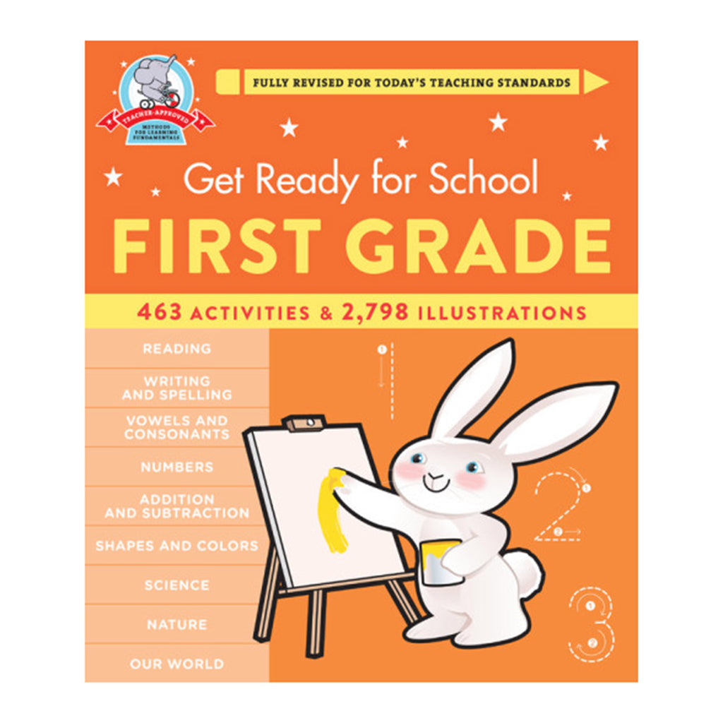 hachette get ready for school first grade book