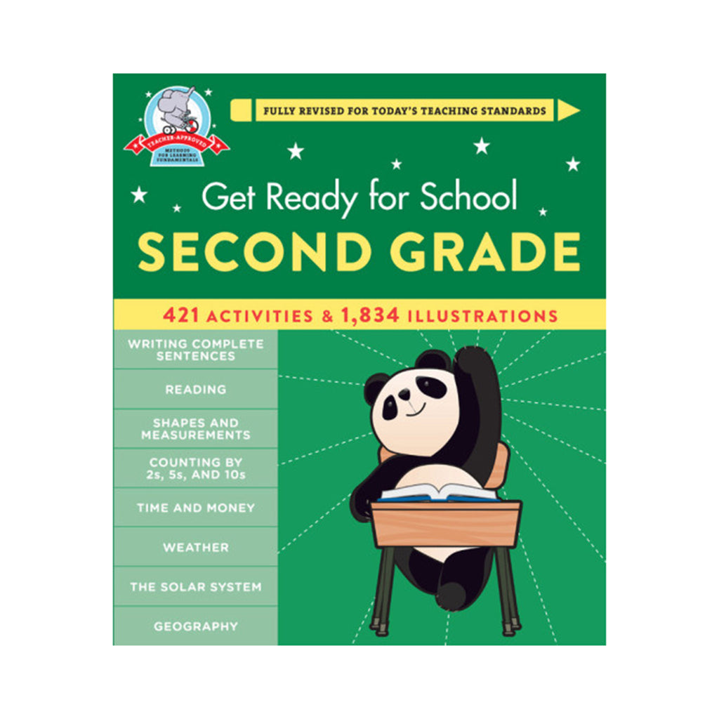 hachette get ready for school second grade book