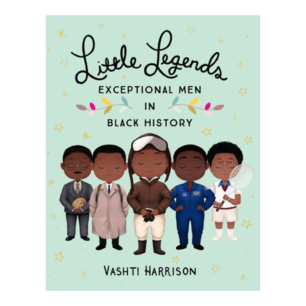 hachette little legends: exceptional men in black history book cover