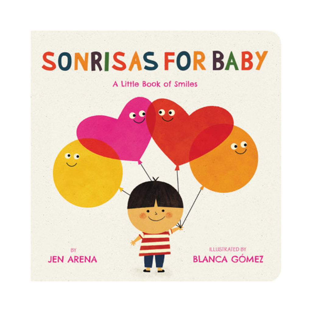 hachette sonrisas for baby board book cover