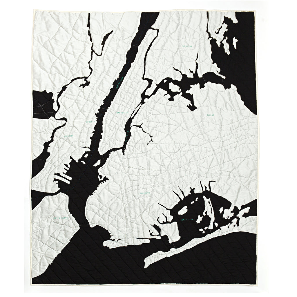 haptic lab new york harbor quilt
