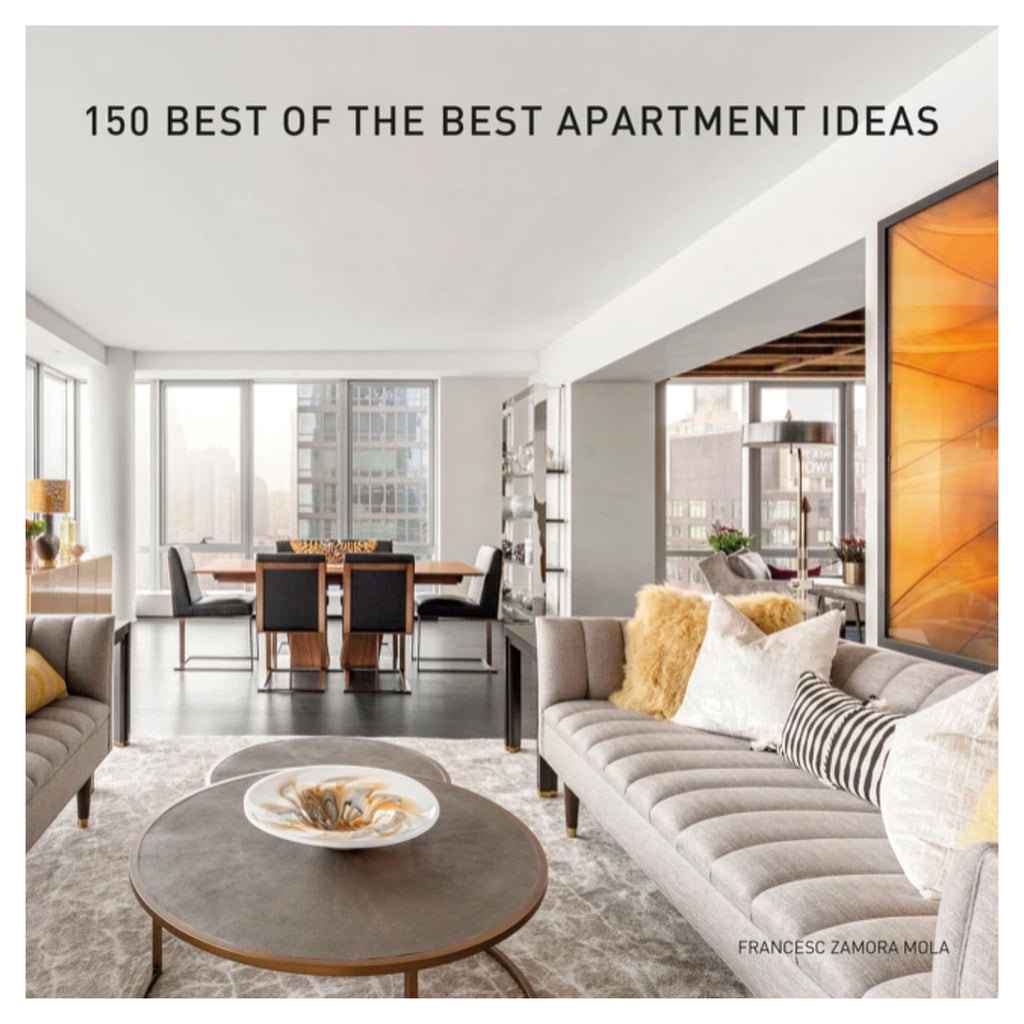 harper collins 150 of the best apartment ideas book hardcover