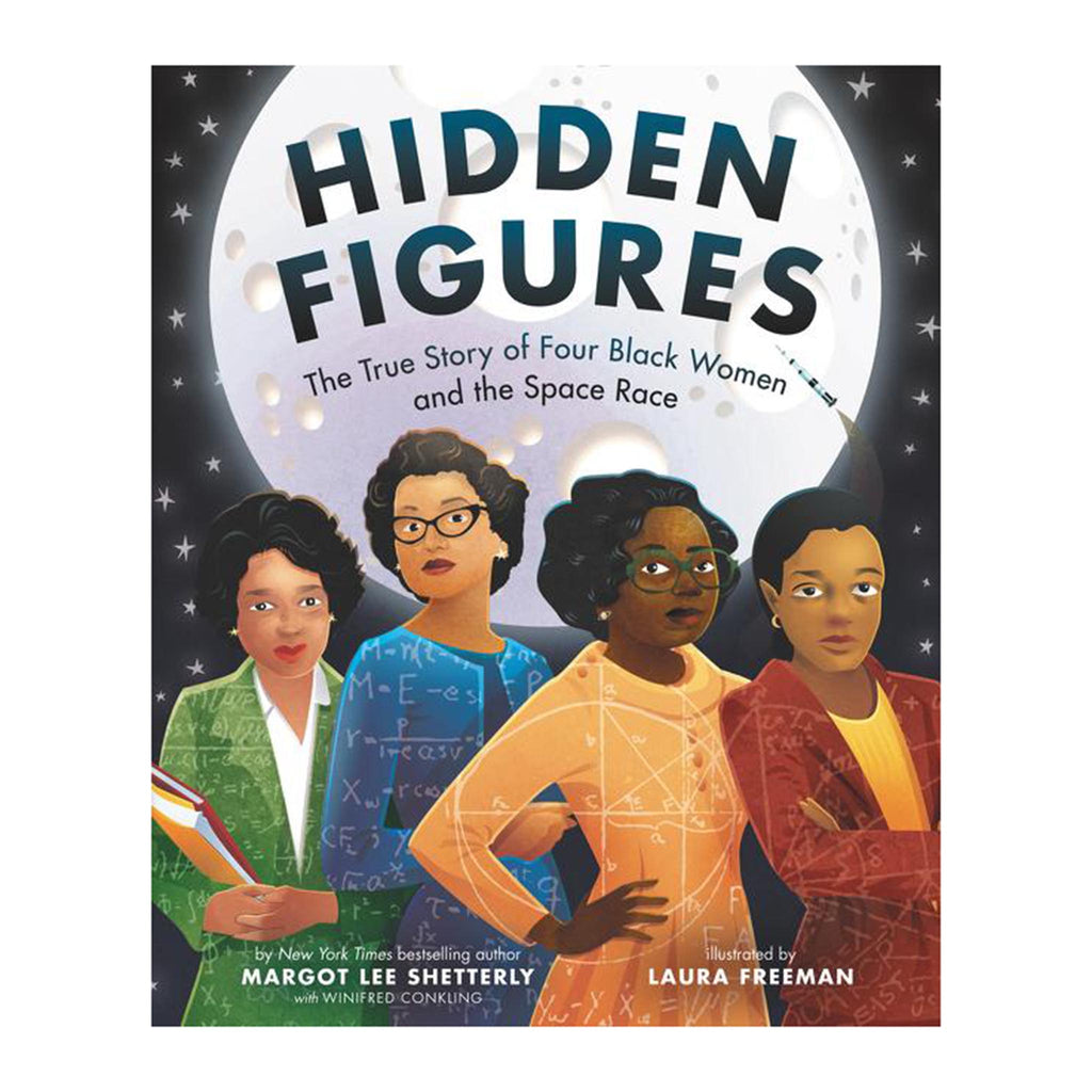 harper collins hidden figures the true story of four black women and the space race black history book cover