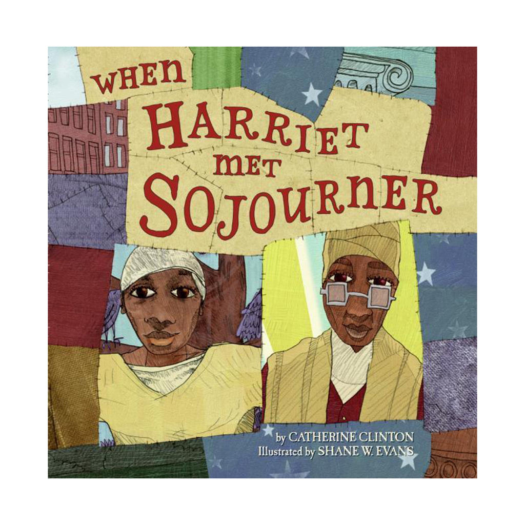 harper collins when harriet met sojourner black history book cover