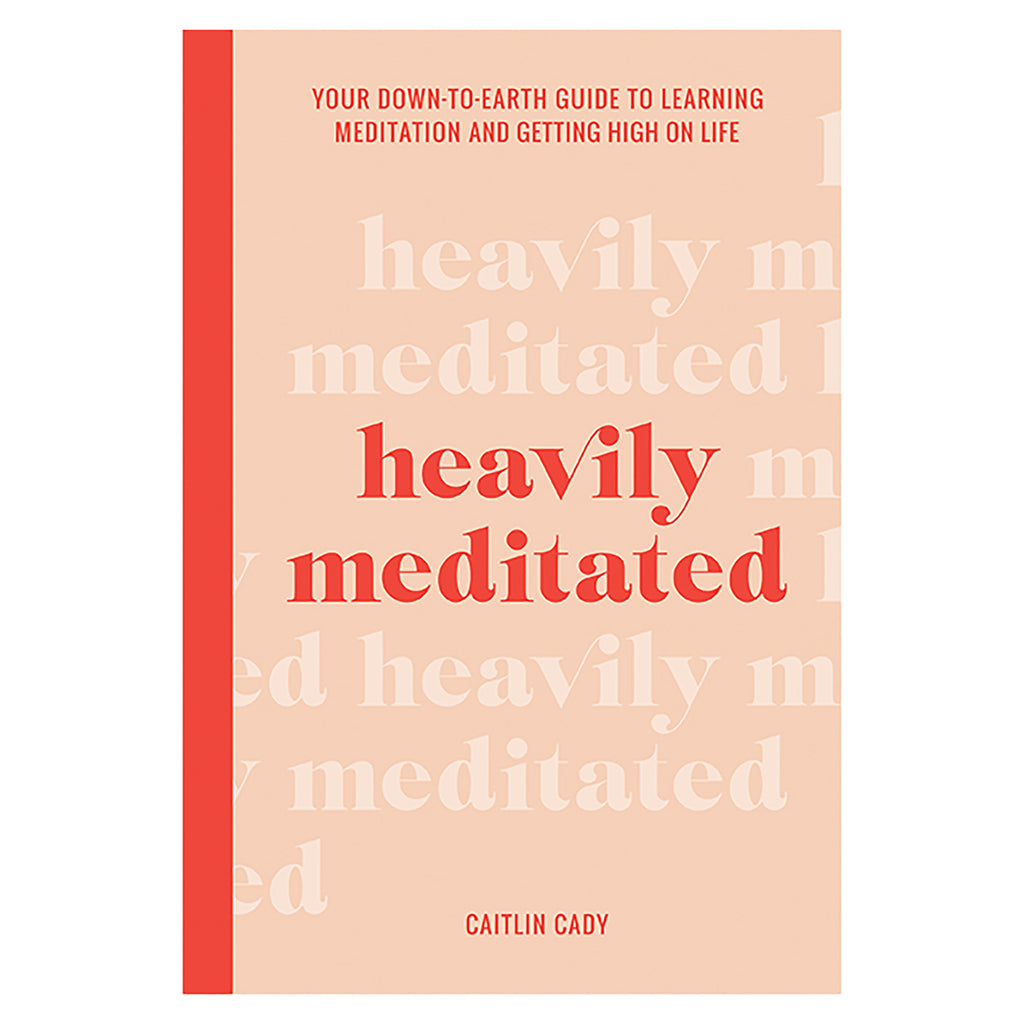 chronicle heavily meditated self help book cover