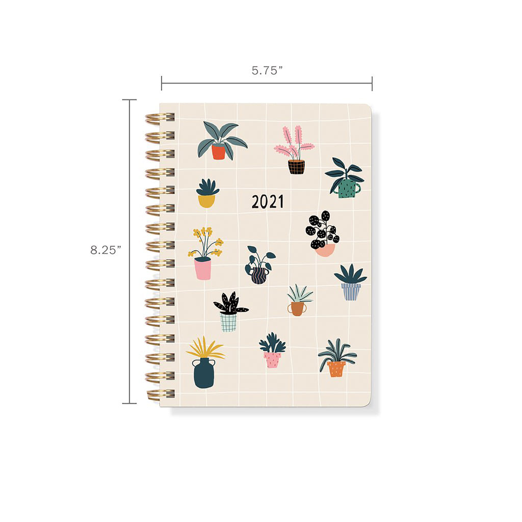 2021 House Plants Planner