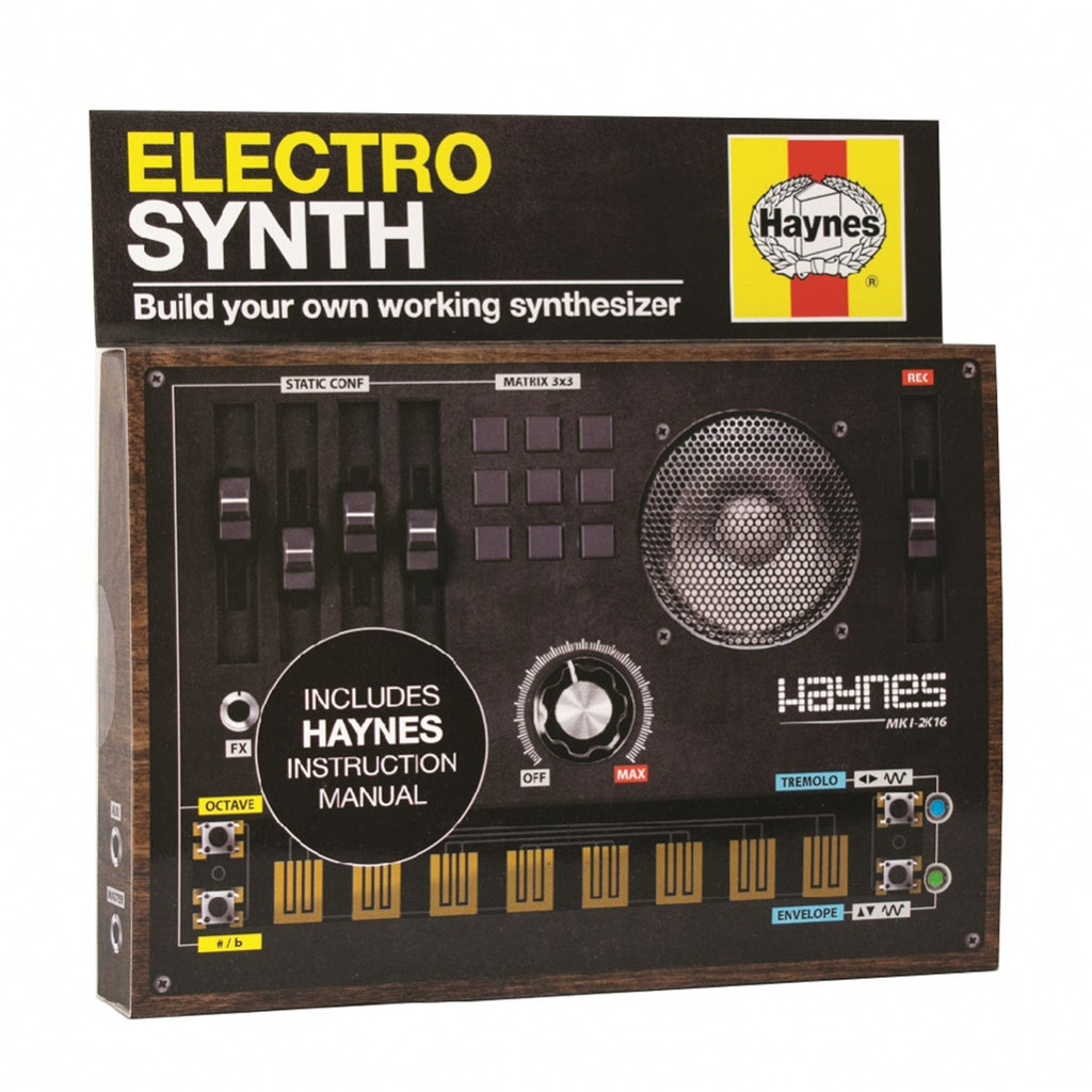 electro synth diy kit box
