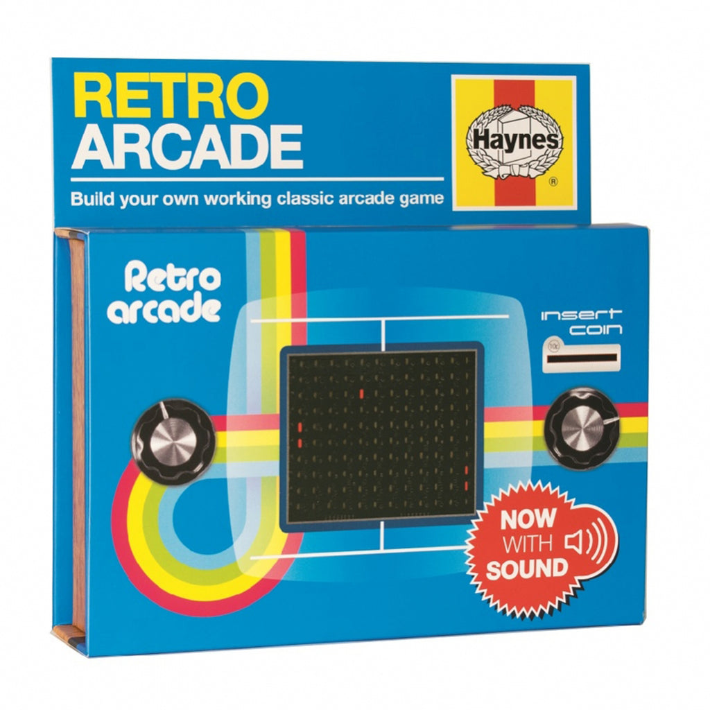 retro arcade diy kit box