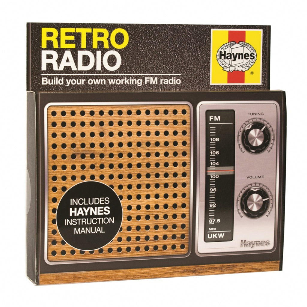 retro radio diy kit box
