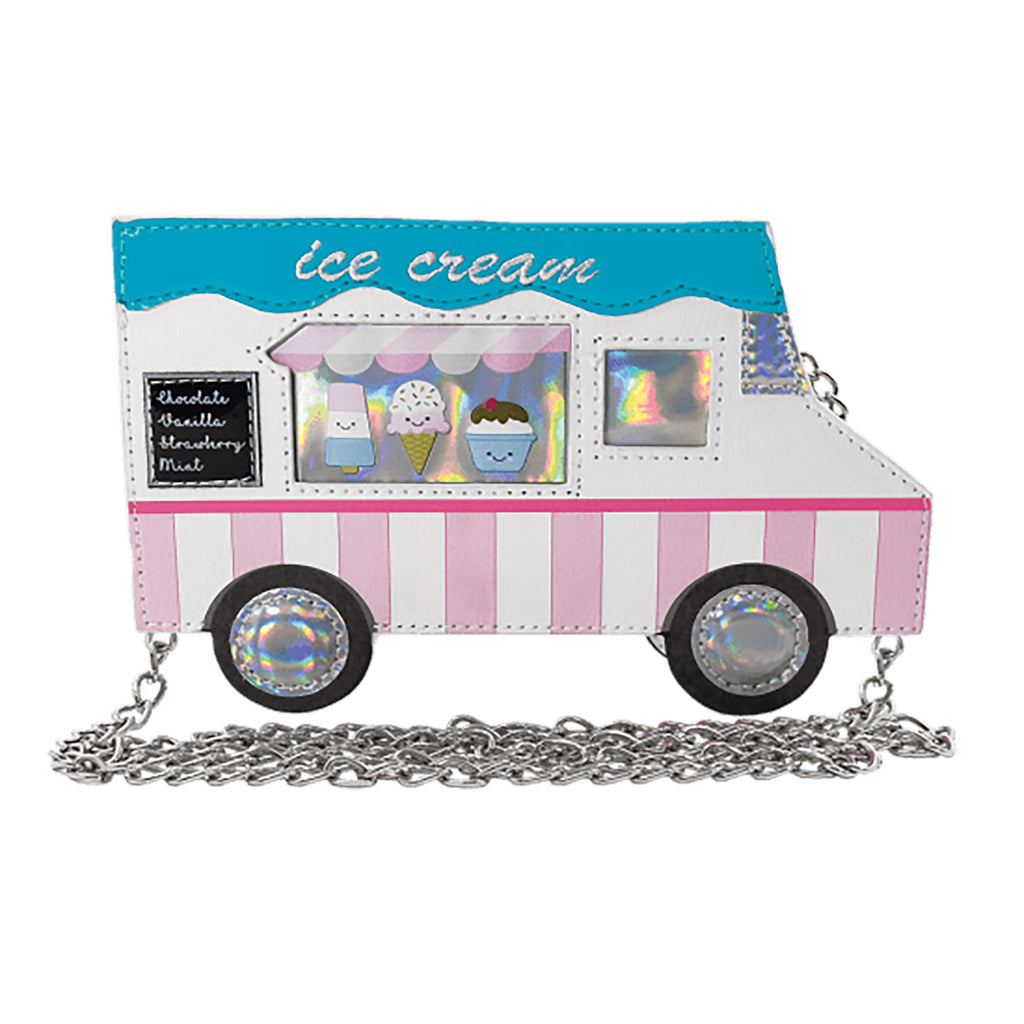 Ice Cream Truck Crossbody Bag