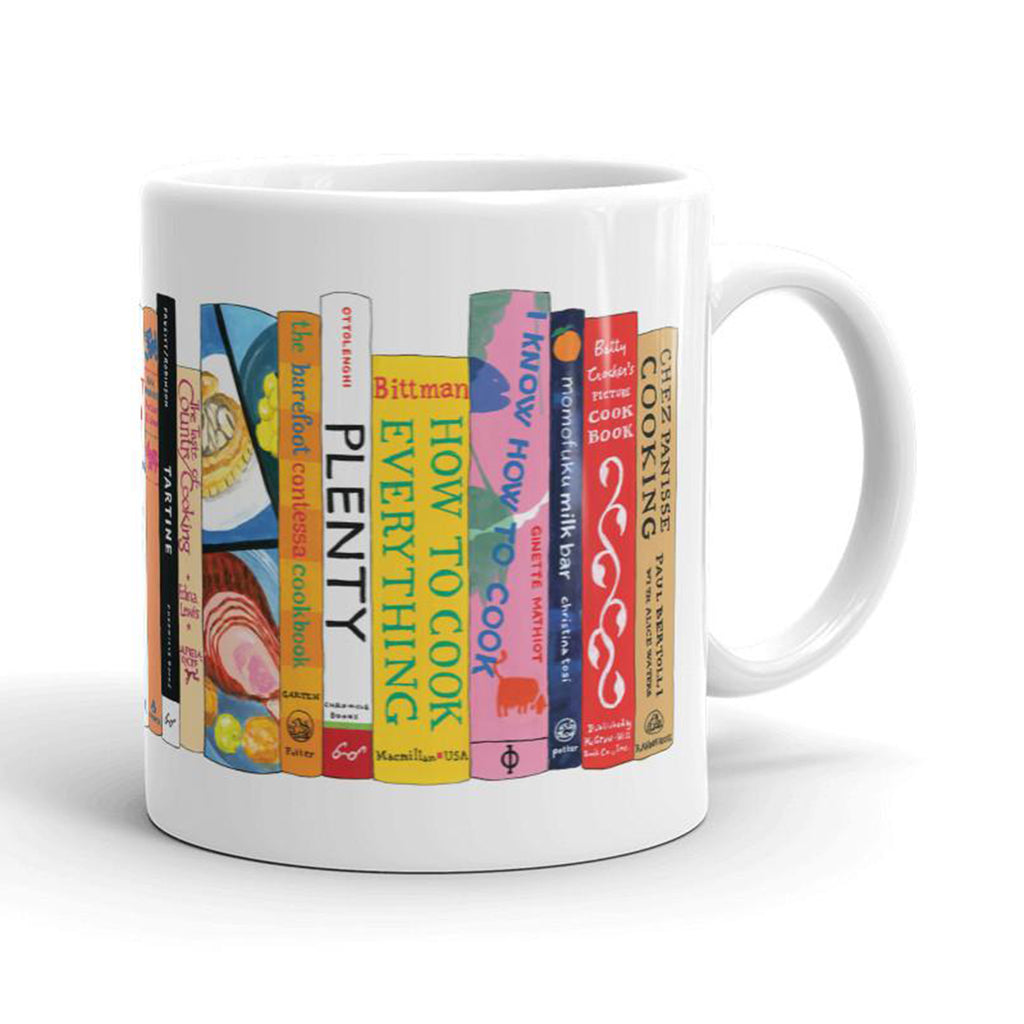 classic cookbooks mug back
