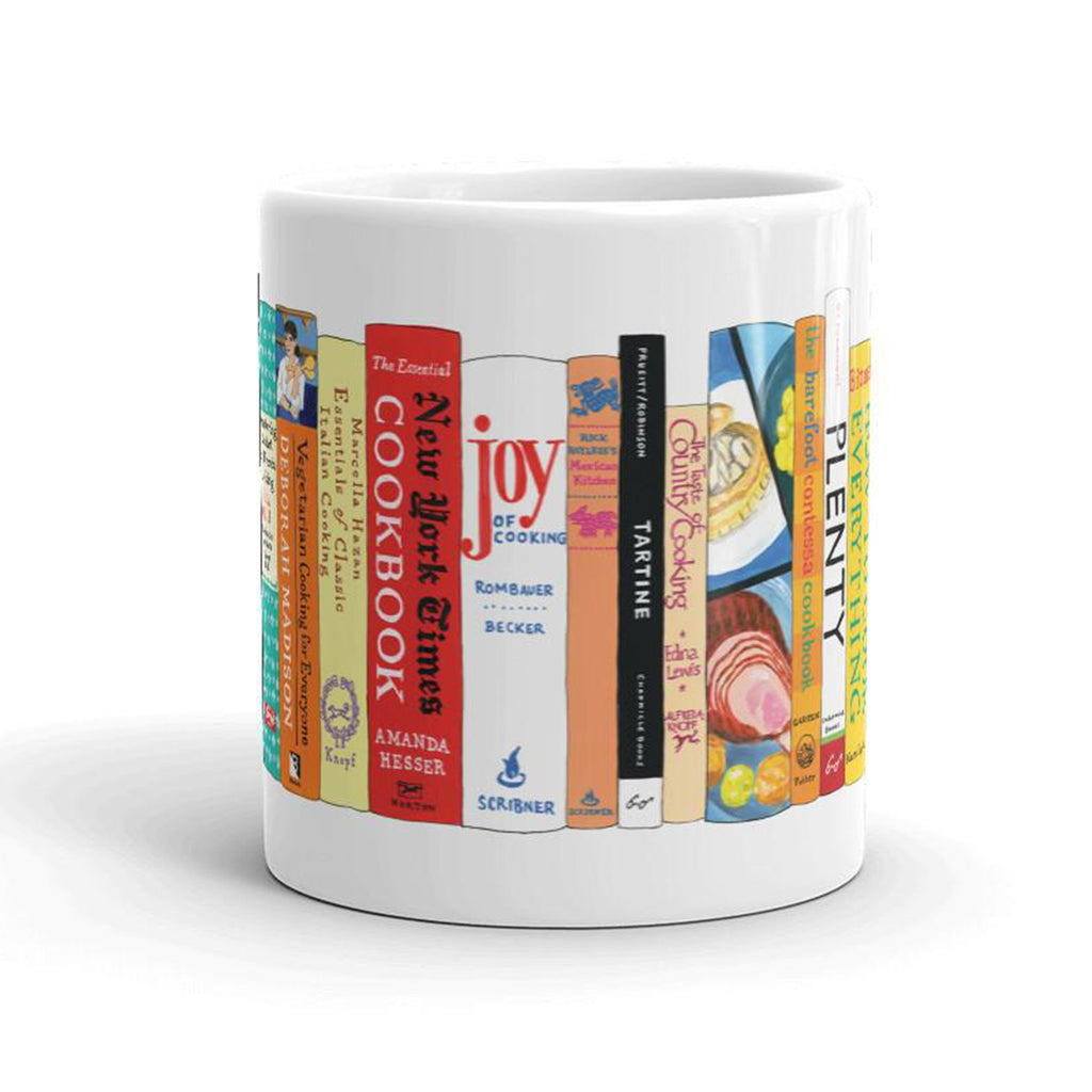 classic cookbooks mug side