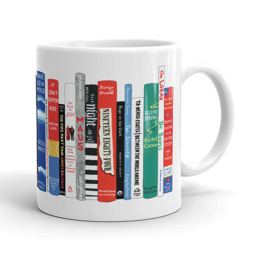 resistance books mug back
