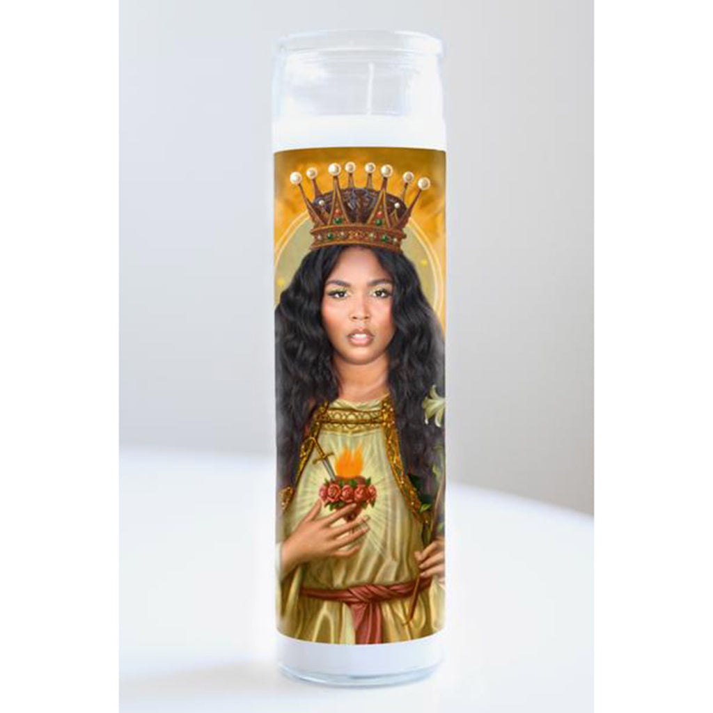 illuminidol lizzo celebrity prayer candle