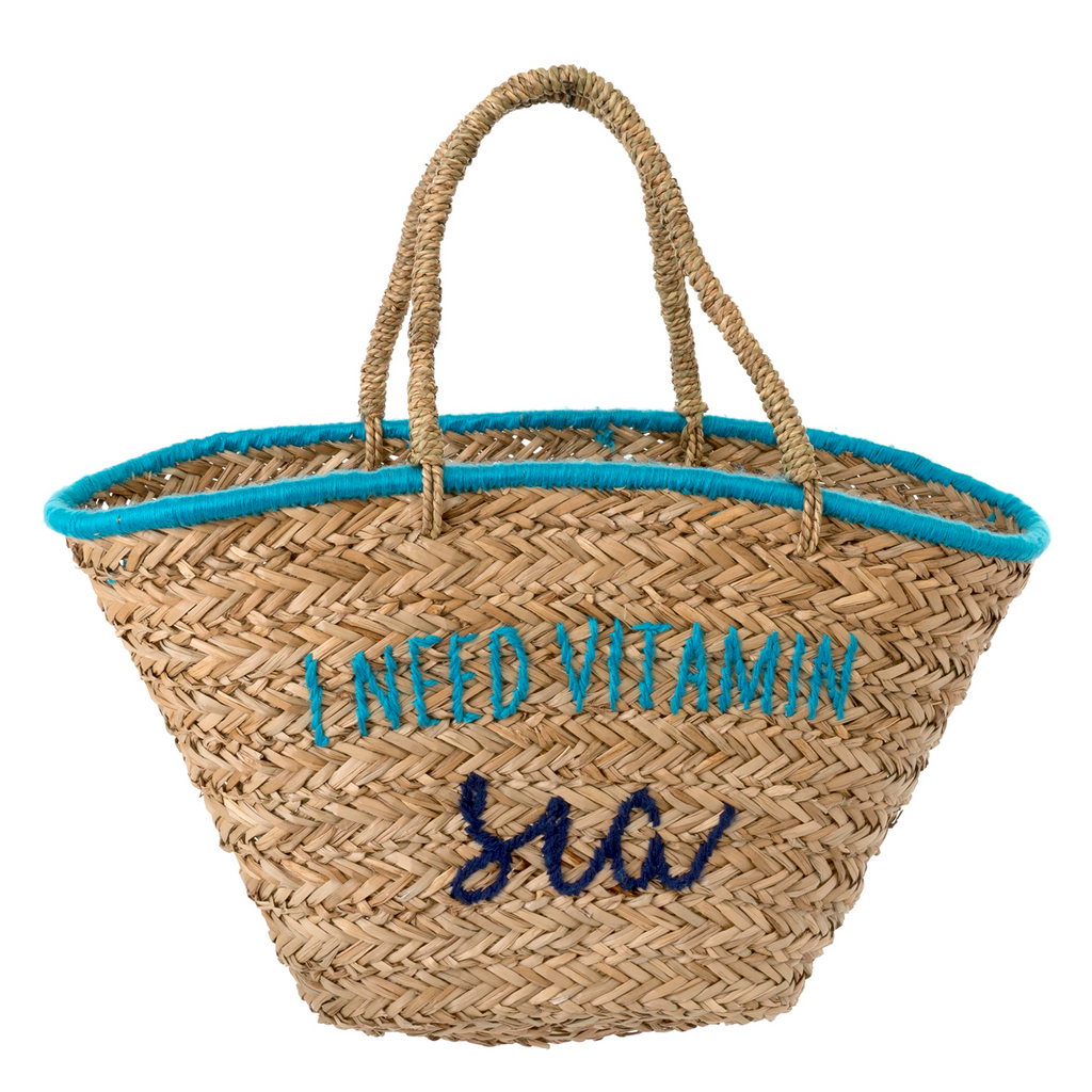 i need vitamin sea beach bag