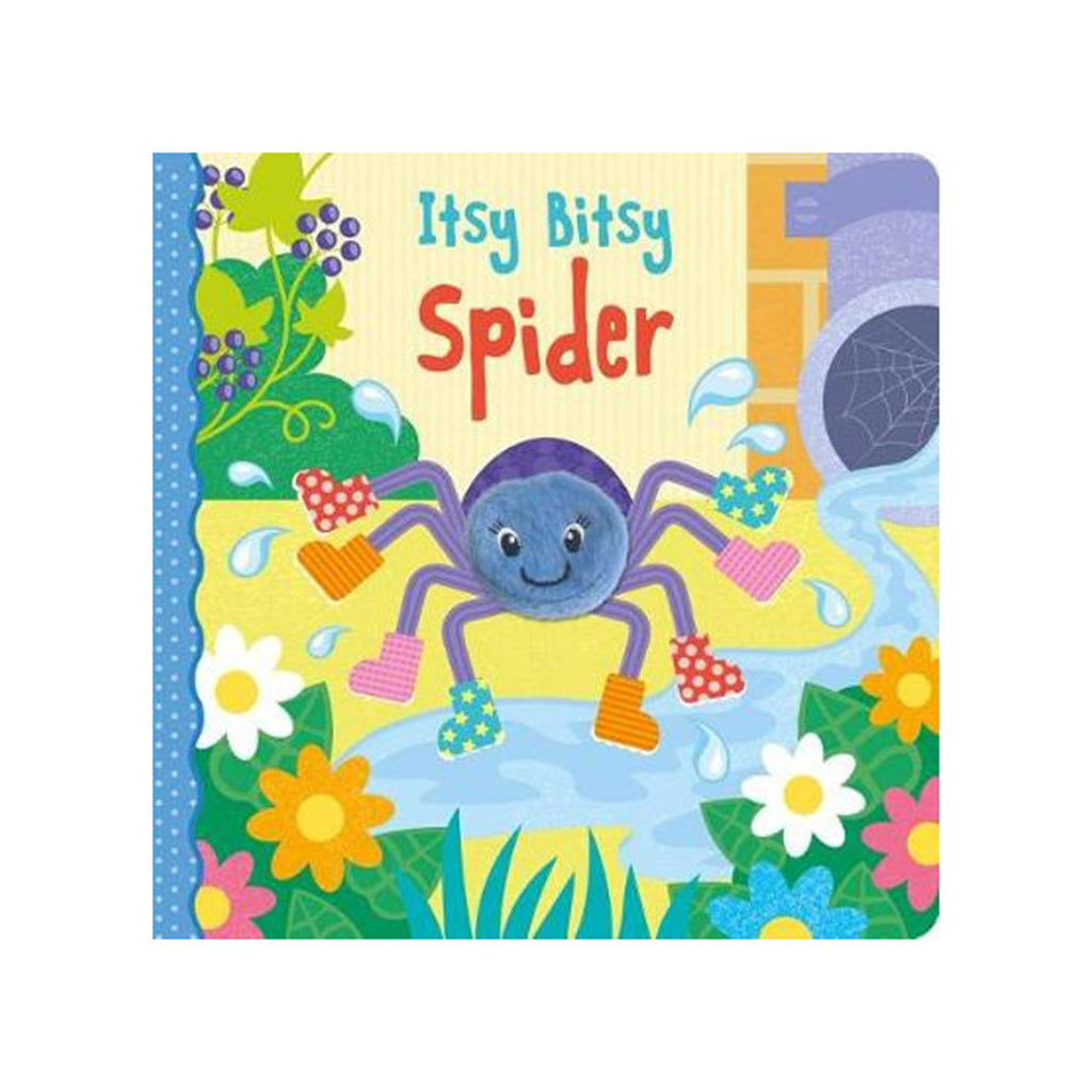 independent publishers group itsy bitsy spider interactive finger puppet baby toddler board book cover