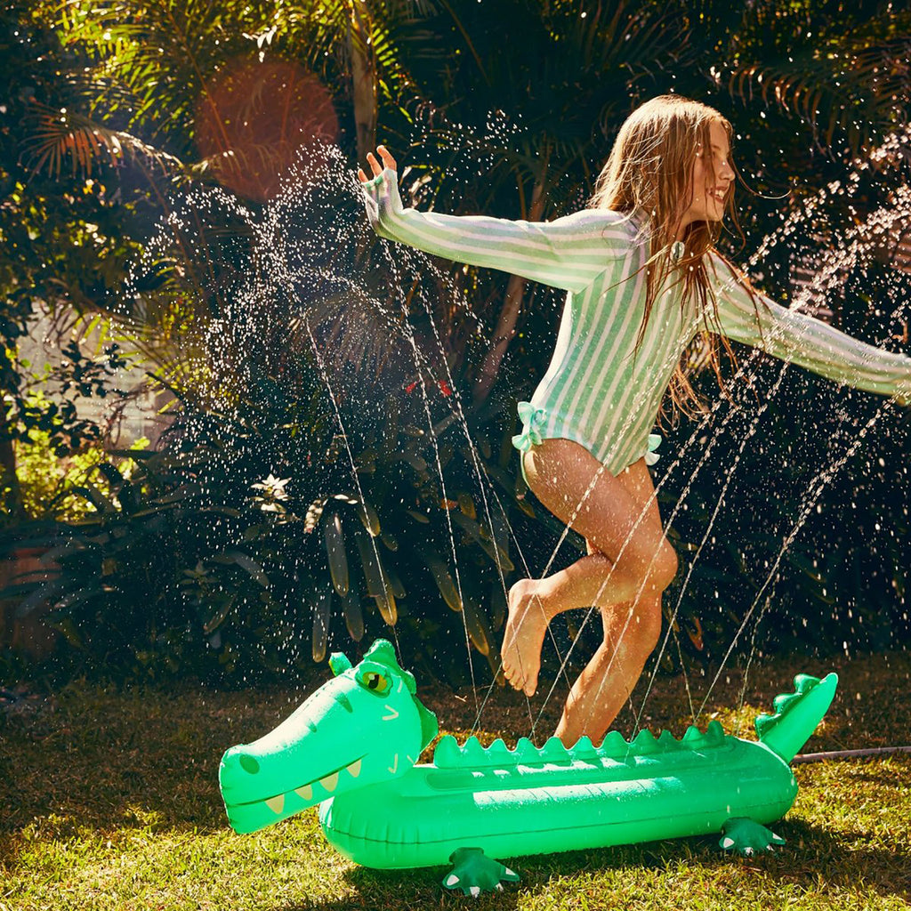 Inflatable Sprinkler - Crocodile (Shipping 6/5)