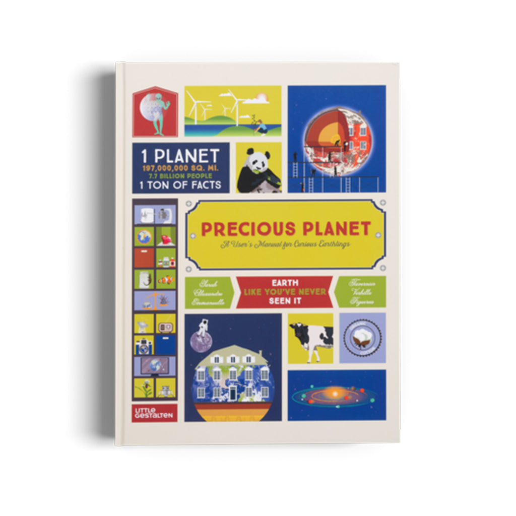 ingram gestalten precious planet a users manual for curious earthlings kids eco friendly guide book front cover