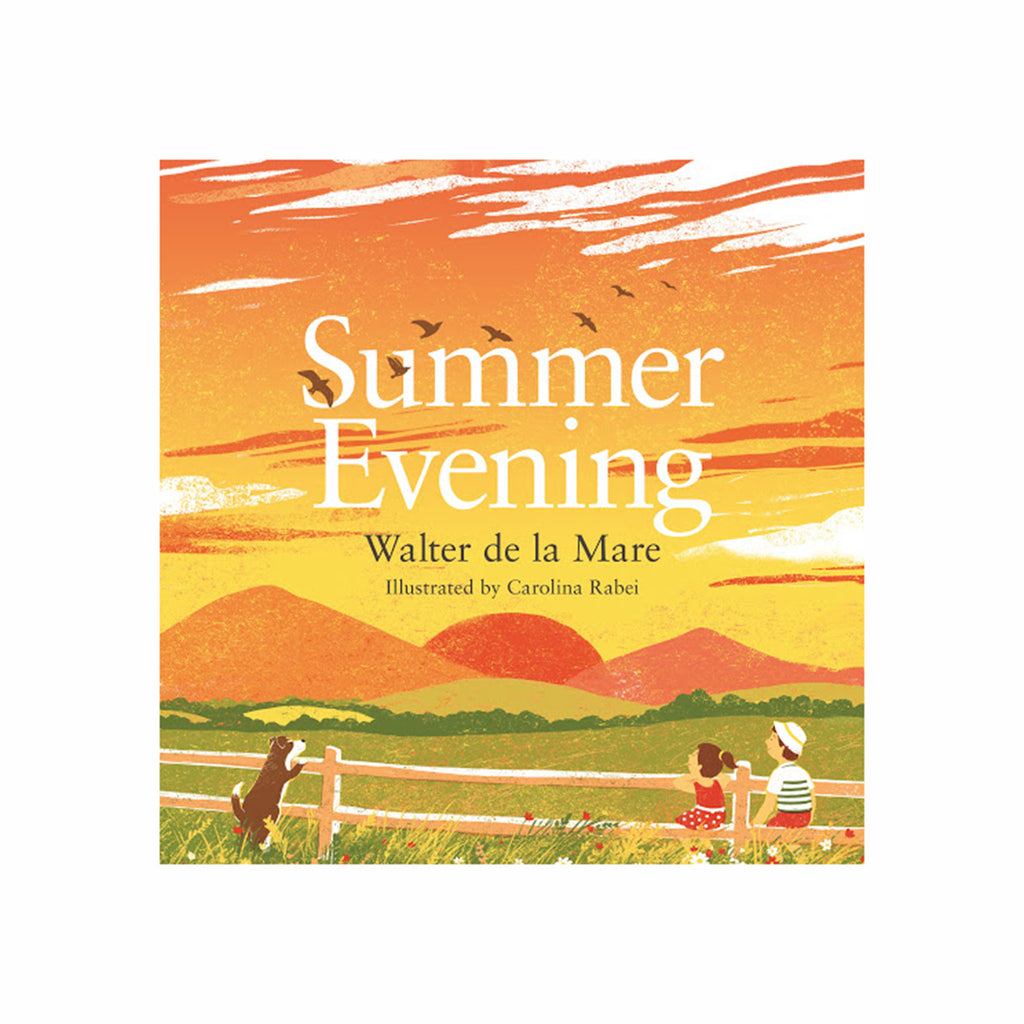 ingram summer evening kids poetry book cover