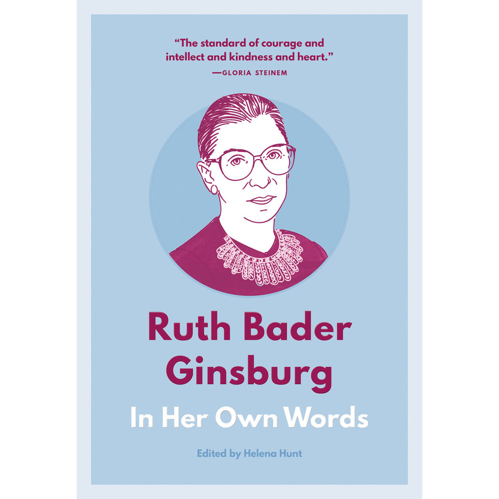 ruth bader ginsburg in her own words book