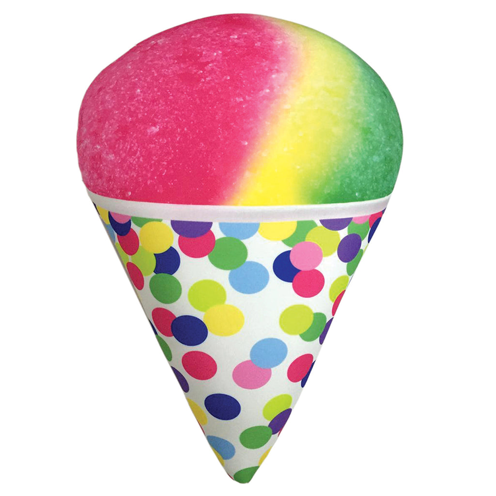 iscream snow cone strawberry scented pillow