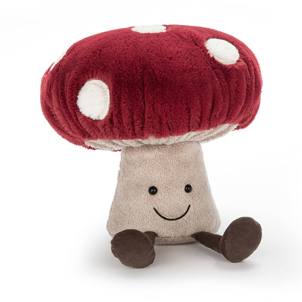 jellycat amuseable mushroom medium front