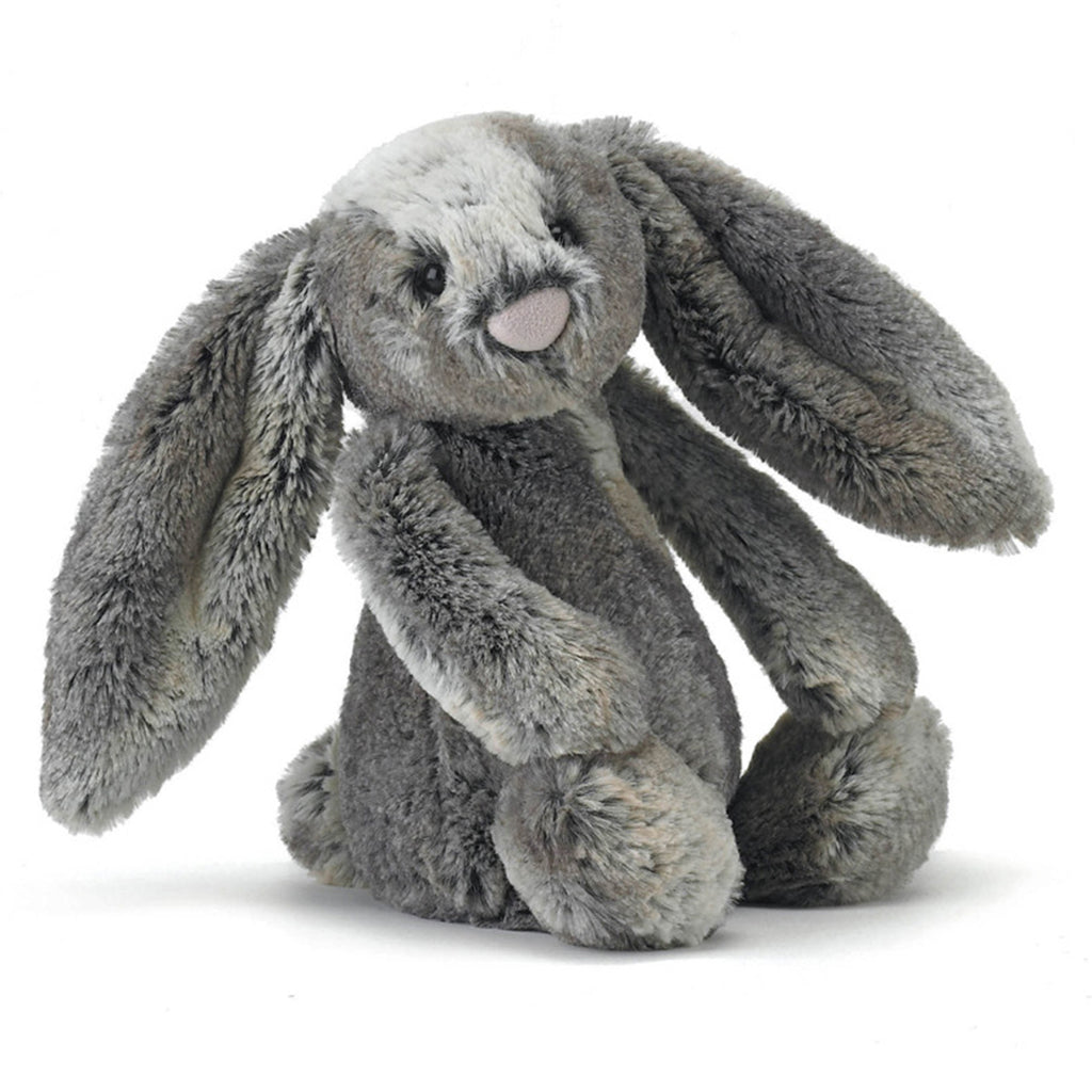 jellycat medium bashful woodland bunny easter stuffed animal plush toy front