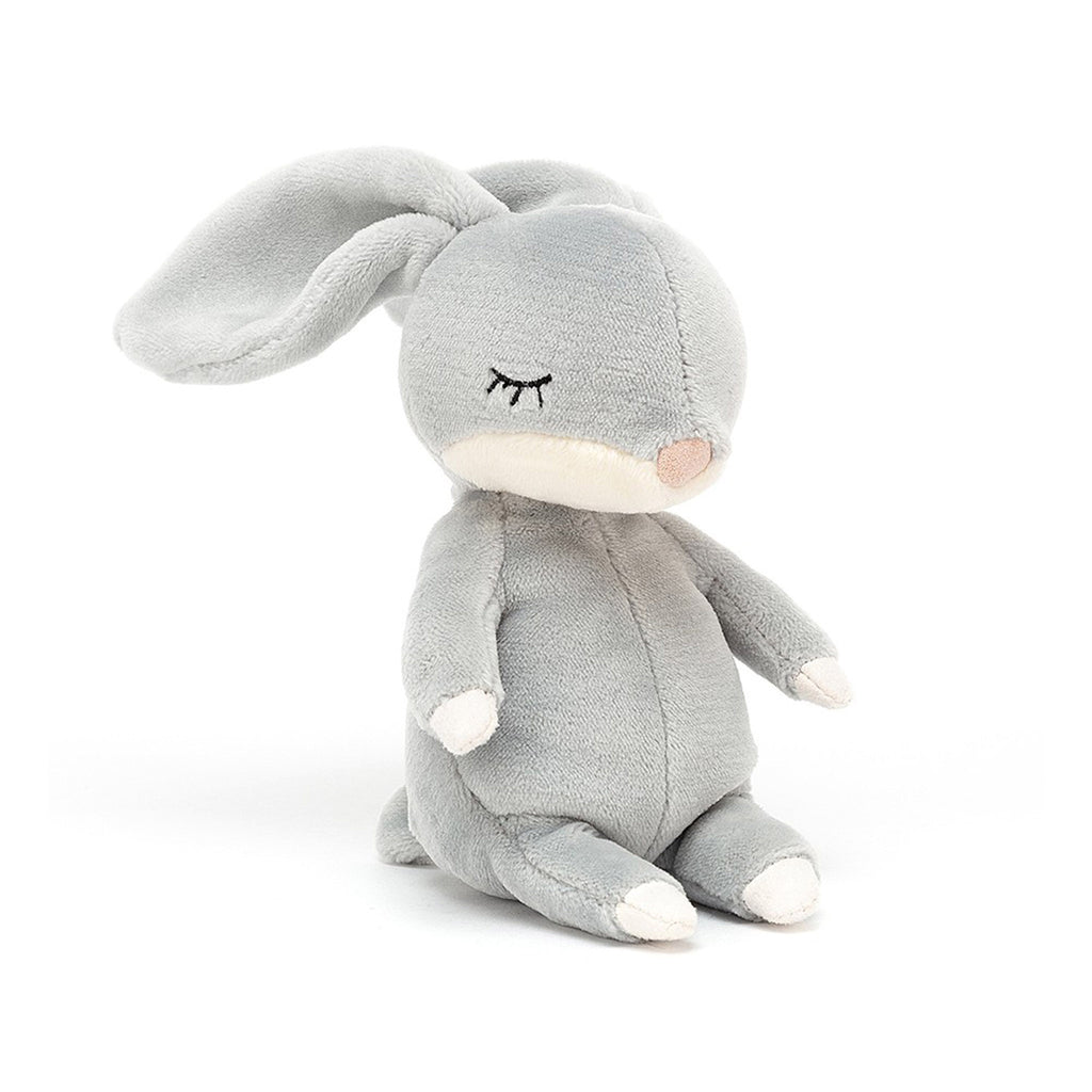 jellycat minikin bunny gray stuffed animal plush toy easter front