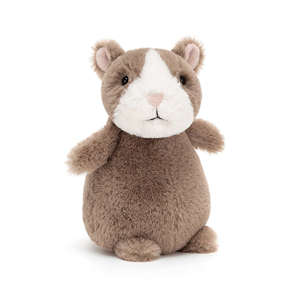 jellycat nutmeg hamster stuffed animal plush toy easter front