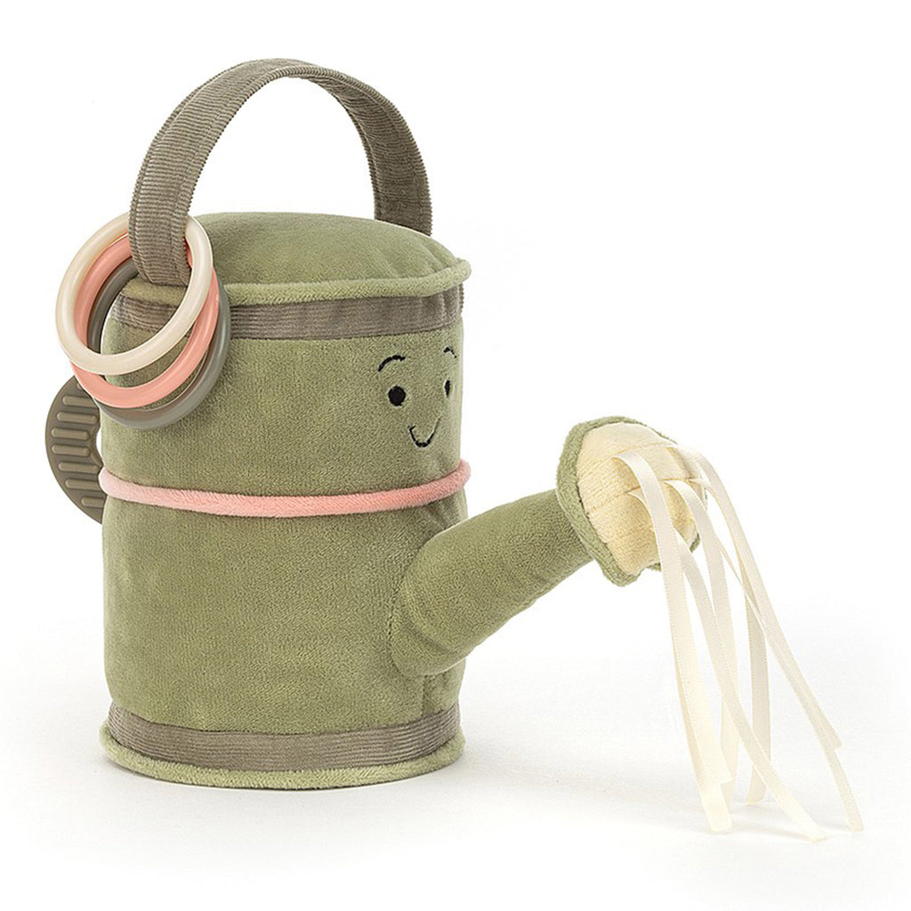 jellycat whimsy garden watering can plush stuffie toy front