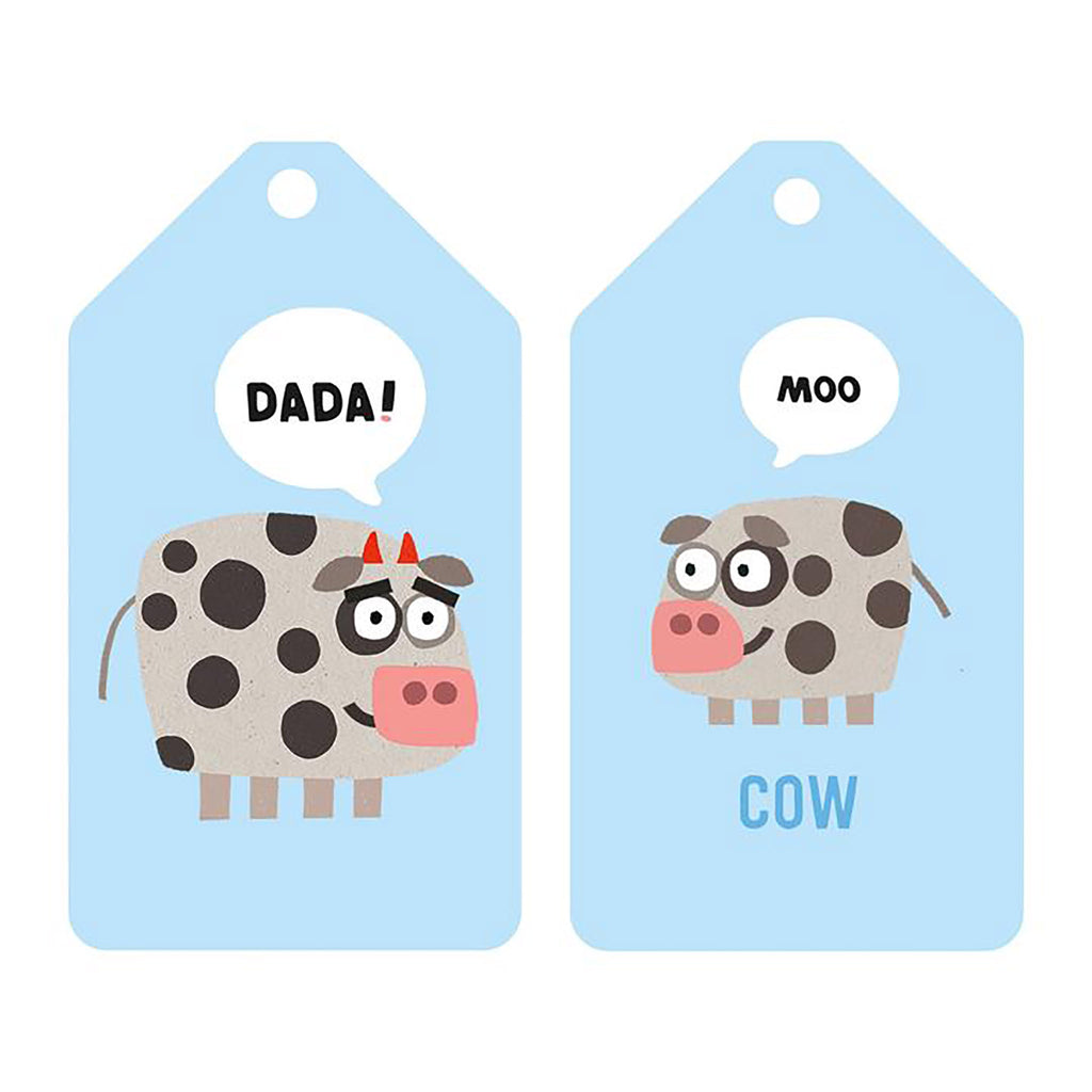 Your Baby's First Word Will Be Dada Flash Cards detail 1